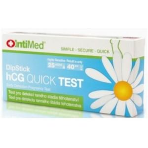 INTIMED HCG DIPSTICK těhotenský test